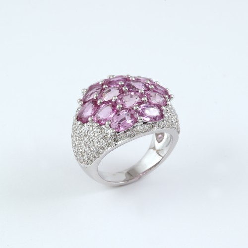 PINK SAPPHIRE RING _ PINK SAPPHIRE RING 1